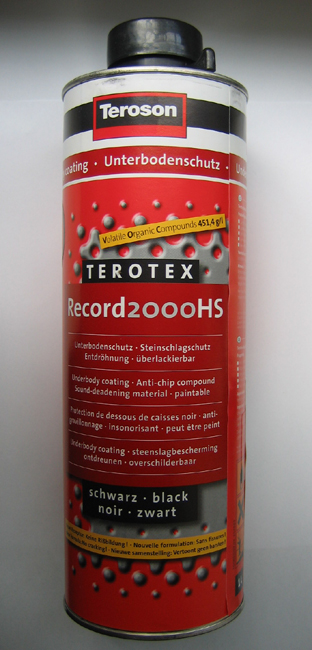 Terotex record 2000hs
